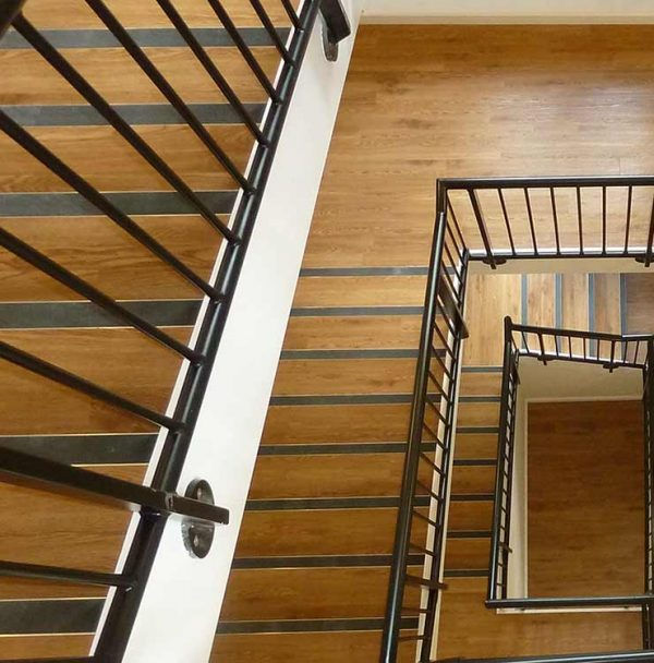 beautiful wooden staircase flooring in exeter