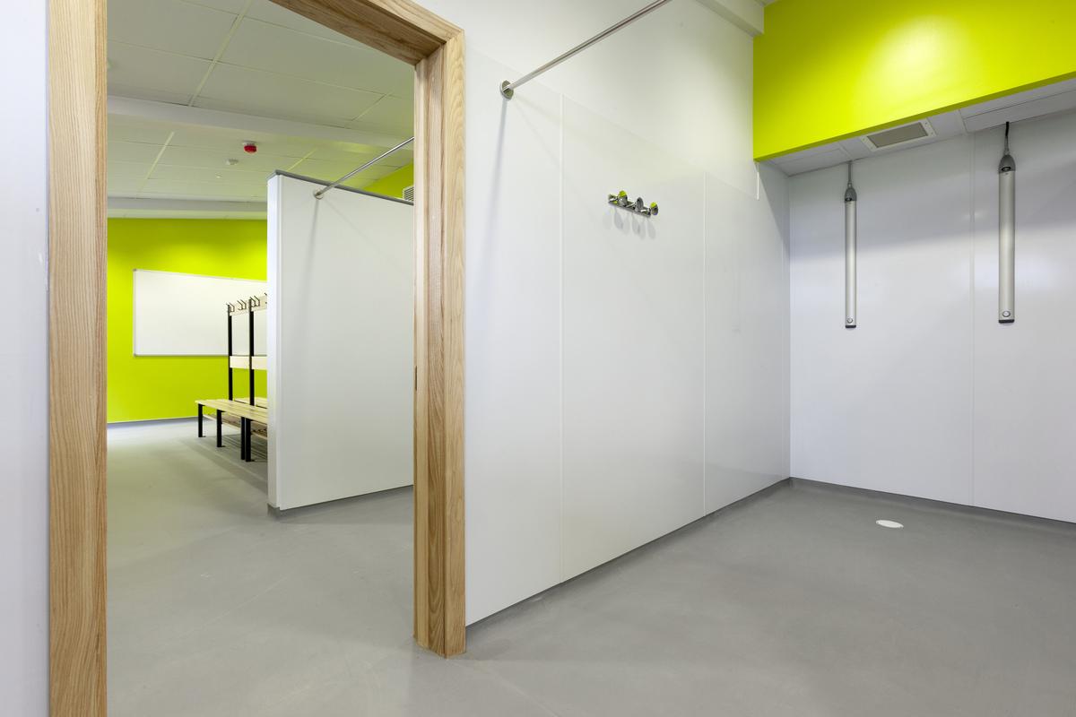 university - wooden flooring