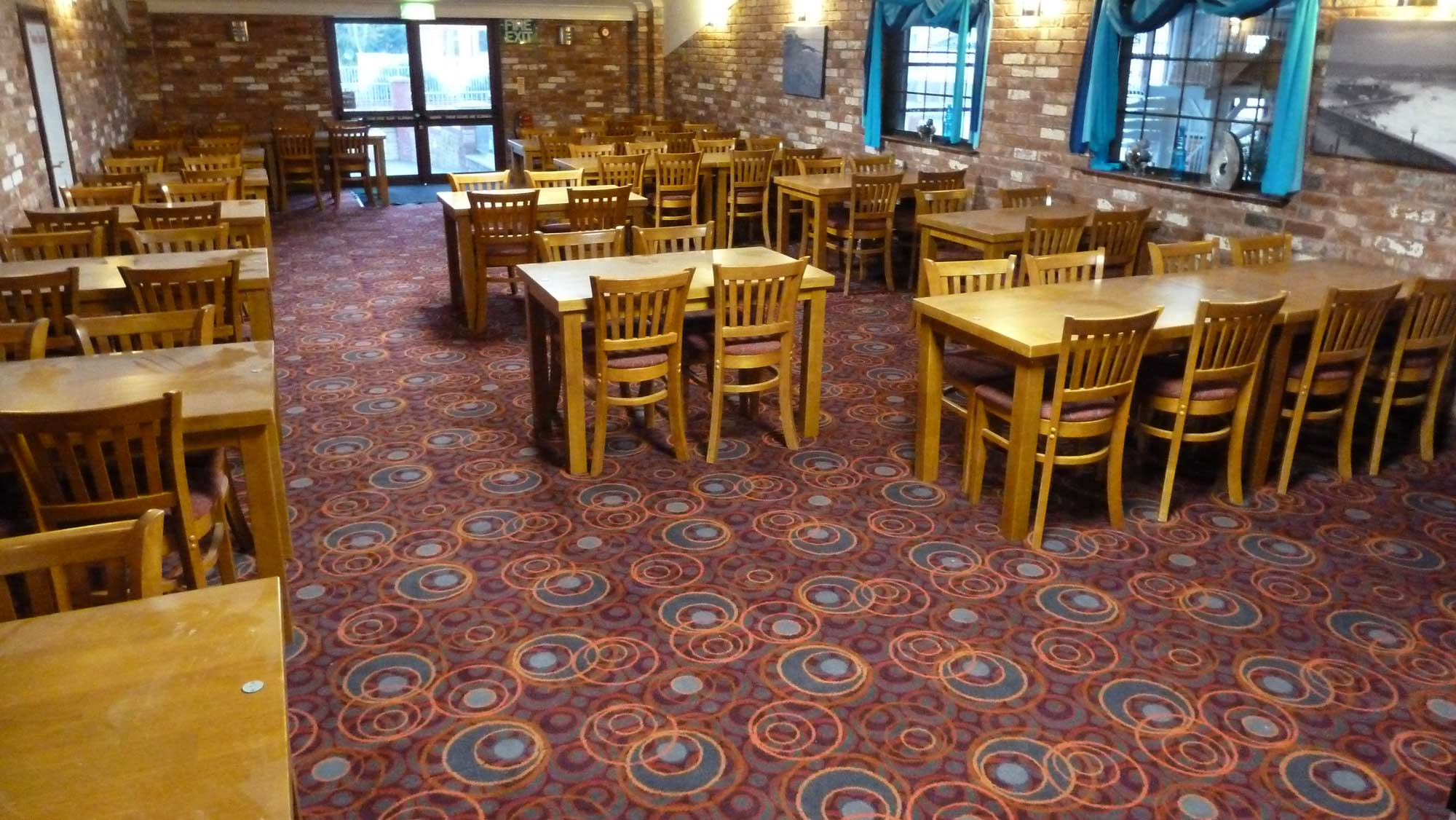 Dining Room Area Carpet Commercial Public House Flooring